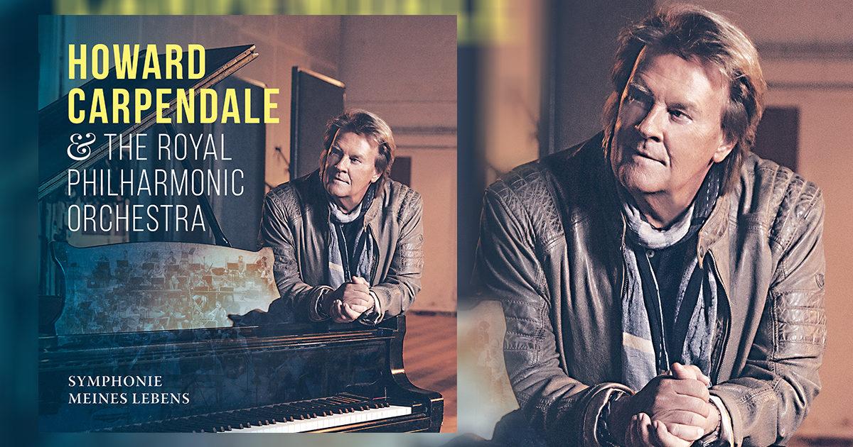 """Howard Carpendale veröffentlicht am 25. Oktober sein neues Album """"Symphonie meines Lebens"""""""