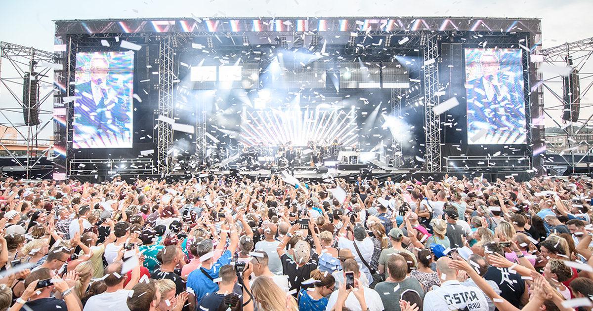 Open Air 2019- Roland Kaiser live mit Band