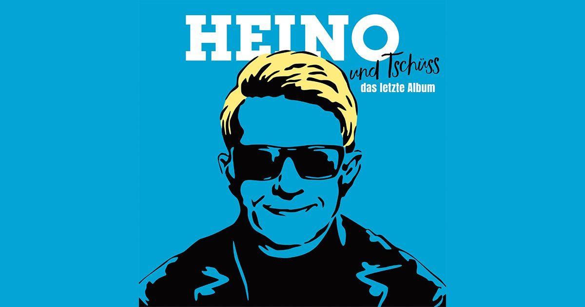 """HEINO – """"und Tschüss (Das letzte Album)"""""""