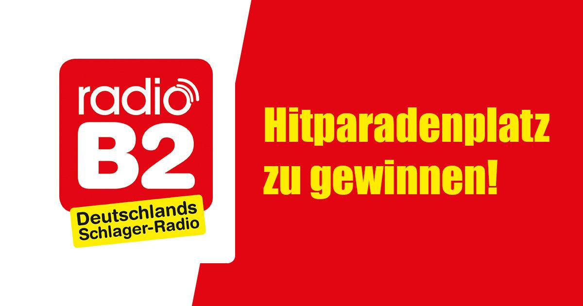 radio B2: Hitparadenplatz zu gewinnen